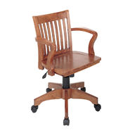 OSP Designs Deluxe Wood Banker's Chair with Wood Seat at Kmart.com