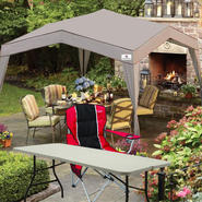 Sportcraft Courtyard Deluxe Canopy with Folding Table & Chair Bundle at Sears.com