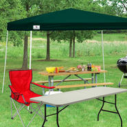 Sportcraft 12x12 Full Shade Instant Canopy with Folding Table & Chair Bundle at Sears.com