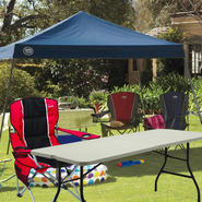 Sportcraft 12x12 Slant Leg Instant Canopy with Folding Table & Chair Bundle at Sears.com