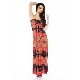 AX Paris Women's Strapless New Paisley Maxi Dress - Online Exclusive at Kmart.com