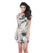 AX Paris Women's Printed Pleat Dress - Online Exclusive at Kmart.com