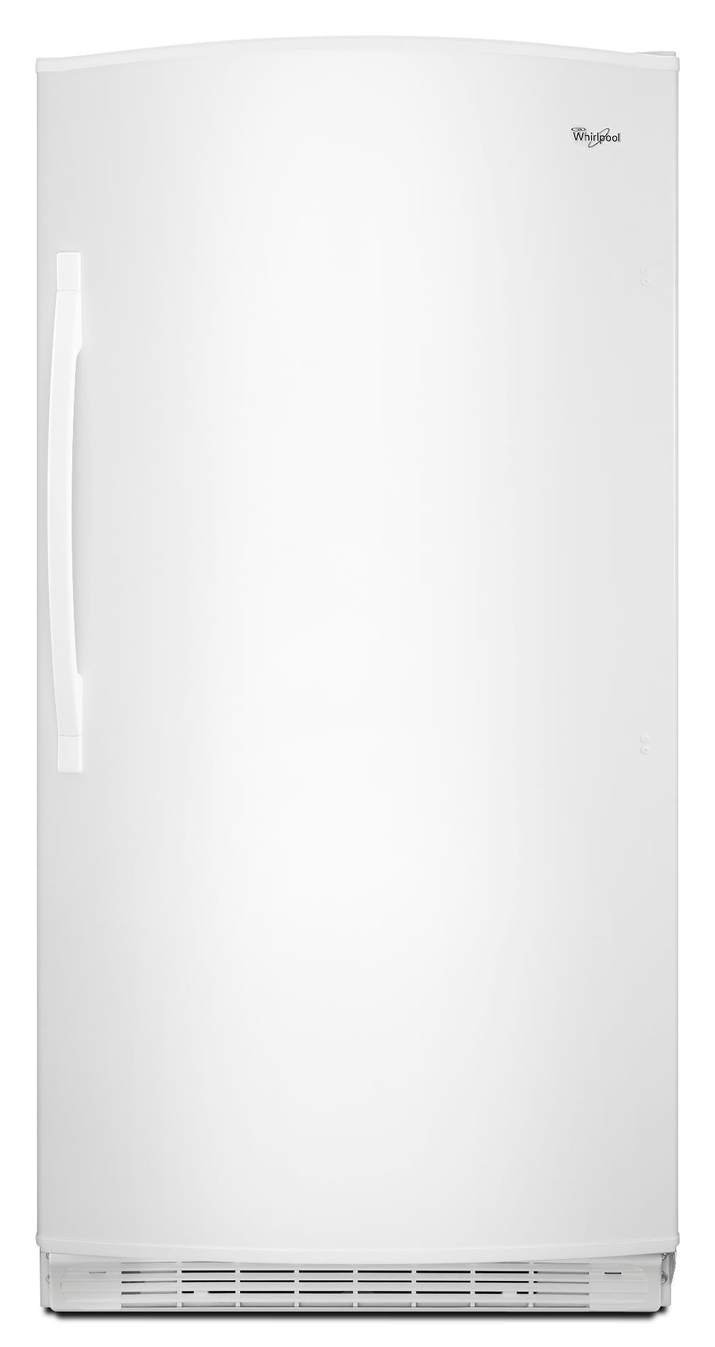 Whirlpool 20.1 cu. ft. Frost-Free Upright Freezer  - White