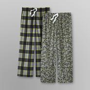 Joe Boxer 2-Pack Boy's Printed Lounge Pants - Plaid/Skulls at Kmart.com