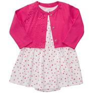 Carter's Infant Girl's Knit Dress & Cardigan - Bows at Sears.com