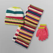 Joe Boxer Girl's Hat, Scarf & Gloves - Reversible at Kmart.com