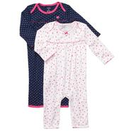 Carter's 2-Pack Infant Girl's Coveralls at Sears.com