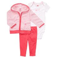 Carter's Infant Girl's Striped Hoodie Set - I Love Mommy at Sears.com
