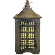 Garden Meadow 15 inch Solar Temple Lantern with White Light at Kmart.com