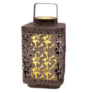 Garden Meadow 10 inch Solar Lear Cluster Lantern with White Light at Kmart.com