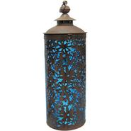 Garden Meadow 18 inch Solar Lace Lantern with Blue Light at Kmart.com