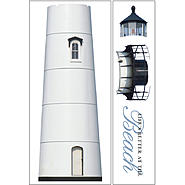 Sticky Pix Removable & Repositionable Ultimate Wall Sticker Mini Mural Appliques - Lighthouse at Kmart.com