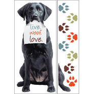 Sticky Pix Removable & Repositionable Ultimate Wall Sticker Mini Mural Appliques - Black Lab at Kmart.com
