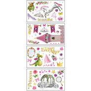 Sticky Pix Removable & Repositionable Ultimate Wall Sticker Appliques - Princess at Kmart.com