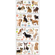 Sticky Pix Removable & Repositionable Ultimate Wall Sticker Appliques - Puppies at Kmart.com