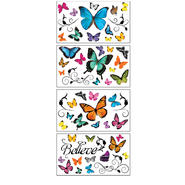 Sticky Pix Removable & Repositionable Ultimate Wall Sticker Appliques - Butterfly at Kmart.com