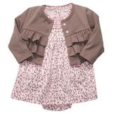 Carter's Infant Girl's Dress & Sweater - Leopard Print at mygofer.com