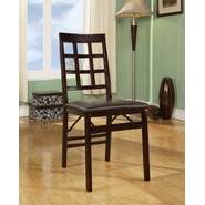 Triena Window Pane Folding Chair at Kmart.com