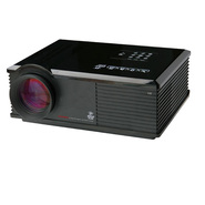 Payle High-Definition LED Widescreen Projector with Up To 120-Inch Viewing Screen, Built-In Speakers, 3D Capable & ATSC TV Tuner at Kmart.com