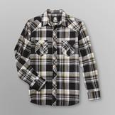 Route 66 Men's Western Flannel Shirt - Plaid at mygofer.com