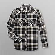 Route 66 Men's Western Plaid Two Pocket Long Sleeve Shirt at Sears.com