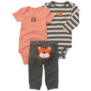 Carter's Infant Boy's 3Pc Bodysuits & Pants - Tiger at Sears.com