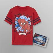 Marvel Spider-Man Boy's T-Shirt & Swim Goggles at Sears.com