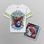 Marvel Spider-Man Boy's T-Shirt & Squirt Gun at Sears.com