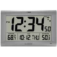 La Crosse Technology Large Digital WWVB clock with Outdoor temperature at Kmart.com