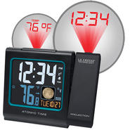 La Crosse Technology Color LCD Projection Alarm clock with Moon phase at Kmart.com
