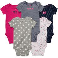 Carter's Infant Girl's 5Pk Bodysuits at Sears.com