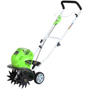 Green Works G-MAX 40V Li-Ion Cordless Cultivator--G-MAX 40V Li-Ion 4 AH Battery Inc. at Sears.com