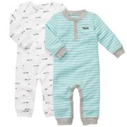 Carter's Infant Boy's 2Pk Coveralls at Sears.com