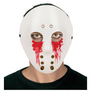 Totally Ghoul Bloody Tears Horror Hockey Halloween Mask at Kmart.com