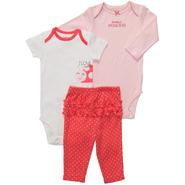 Carter's 3-Piece Infant Girl's Bodysuits & Leggings - Ladybug at Sears.com