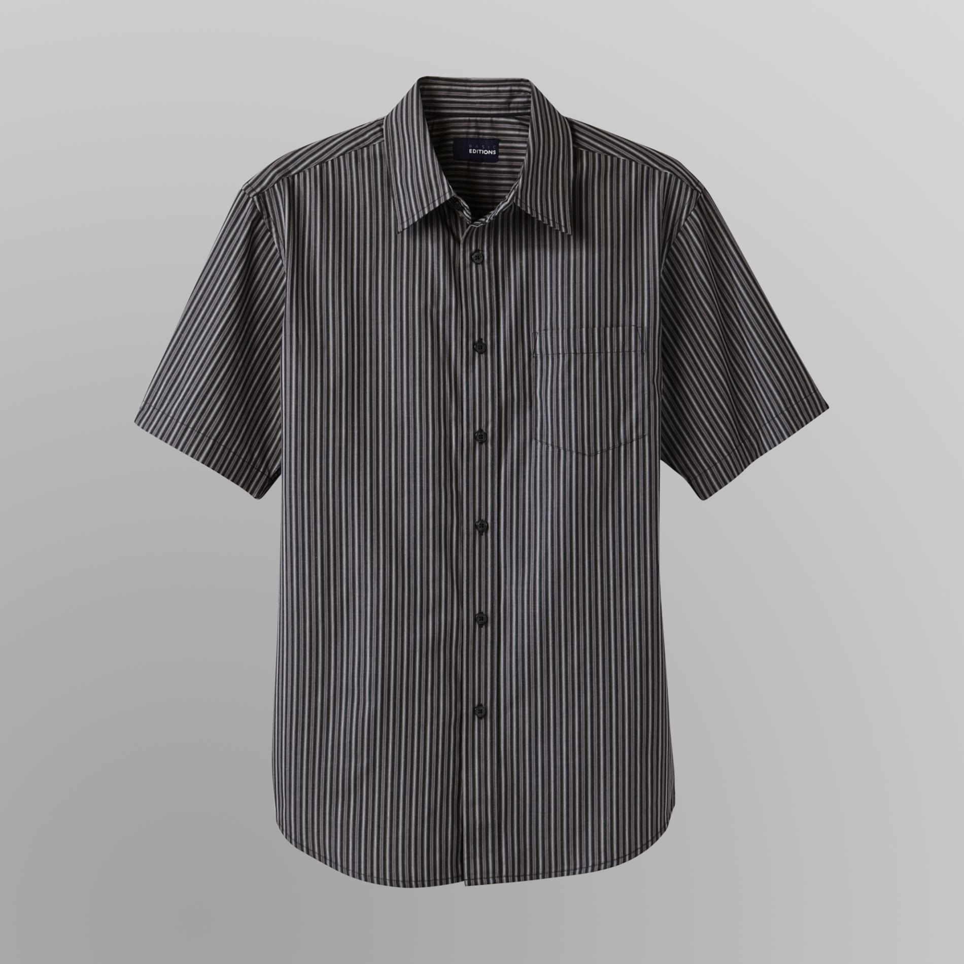 Basic Editions Men's Easy Care Shirt - Striped at Kmart.com