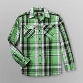 SK2 Boy's Woven Plaid Shirt - Eagle Crest at mygofer.com