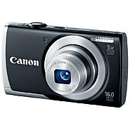 Canon PowerShot A2500 16-Megapixel Digital Camera - Black at Sears.com