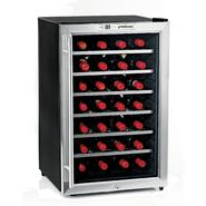Wine Enthusiast Silent 28 Bottle Wine Refrigerator (Stainless Steel) at Kmart.com