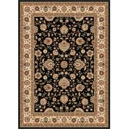 Tayse Rugs Elegance 5143 Black 5 ft. x 7 ft. Traditional Area Rug at Sears.com