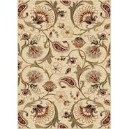 Tayse Rugs Impressions 7772 Beige 5 ft. 3 in. x 7 ft. 3 in. Transitional Area Rug at Sears.com
