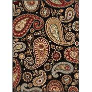Tayse Rugs Impressions 7813 Black 5 ft. 3 in. x 7 ft. 3 in. Transitional Area Rug at Sears.com