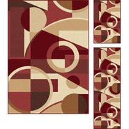 Tayse Rugs Elegance 5150 Multi Contemporary Area Rug 3 pc. Set at Sears.com