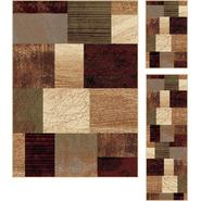Tayse Rugs Elegance 5210 Multi Contemporary Area Rug 3 pc. Set at Sears.com