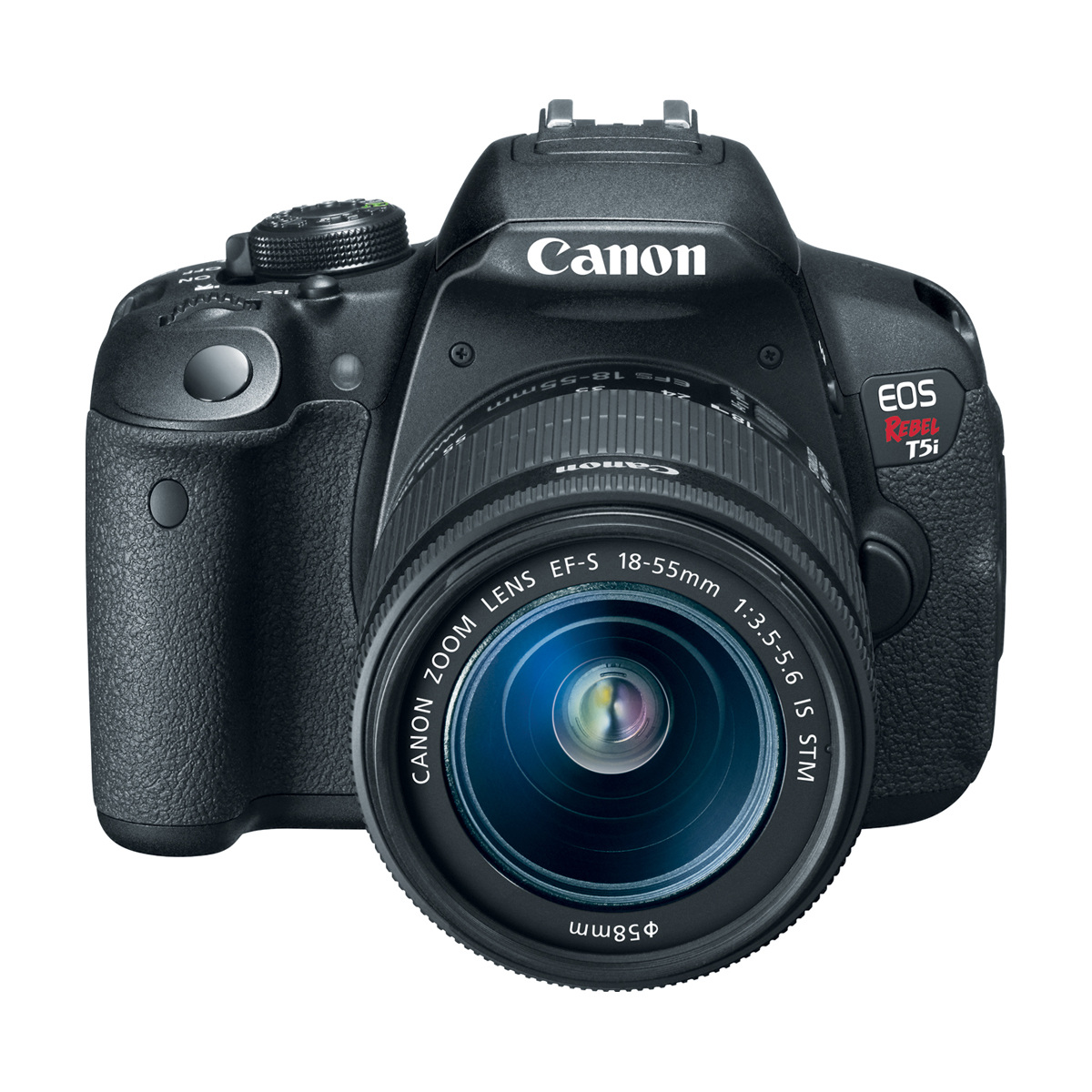 Canon EOS Rebel T5i 18-Megapixel Digial Camera 18-55mm IS STM Kit Black 14.9 x 22.3mm