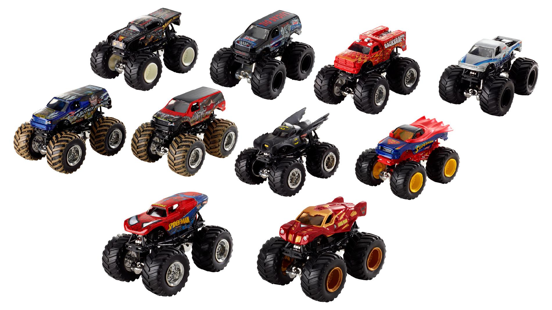 Monster Jam 1:64 Demo Doubles 2-Pack