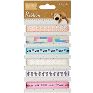 Boofle Ribbon Carded 6 Styles/1 Meter Each at Kmart.com