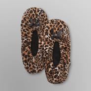Joe Boxer Women's Slippers - Leopard Print at Sears.com