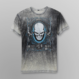 Route 66 Men's Graphic T-Shirt - Skull/Chopper Customs at mygofer.com