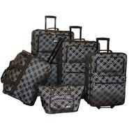 American Flyer Pemberly Buckles 5-Piece Luggage Set at Sears.com